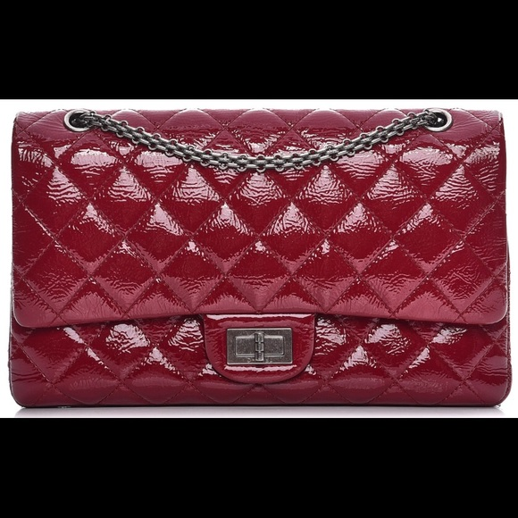 83c881425788 CHANEL Handbags - Chanel Distressed Patent Leather Reissue Flap